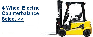 Select Electric 4 Wheel Forklifts